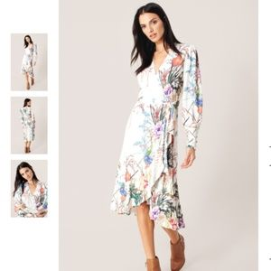 NWT Hale Bob Xanadu Jersey Dress